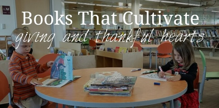 books that teach thankfulness