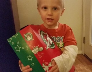 Operation Christmas child shoe box